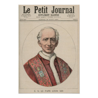 Pope Leo XIII Poster