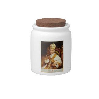 Pope Leo XIII Vincenzo Gioacchino Luigi Pecci Candy Dish
