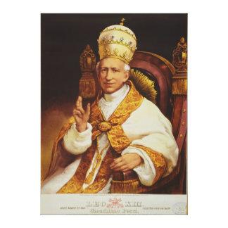 Pope Leo XIII Vincenzo Gioacchino Luigi Pecci Gallery Wrapped Canvas