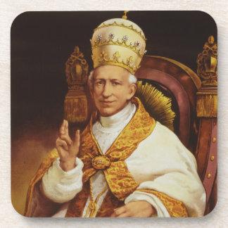 Pope Leo XIII Vincenzo Gioacchino Luigi Pecci Beverage Coaster