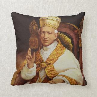 Pope Leo XIII Vincenzo Gioacchino Luigi Pecci Throw Pillows