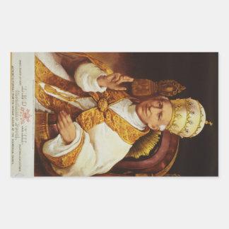 Pope Leo XIII Vincenzo Gioacchino Luigi Pecci Stickers