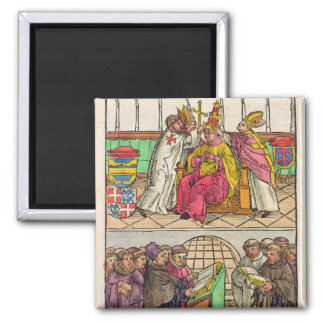 Pope Martin V is installed to the Papacy Magnet