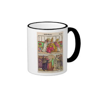 Pope Martin V is installed to the Papacy Coffee Mugs