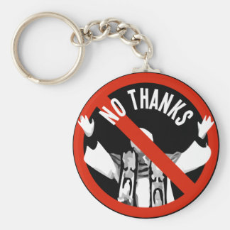 Pope No Thanks Keychain