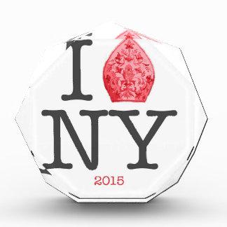 POPE NYC 2015 ACRYLIC AWARD