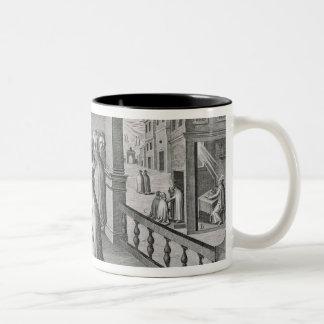 Pope Paul III Two-Tone Coffee Mug
