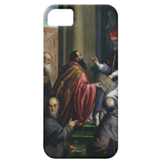 Pope Paul IV Handing over a Statute iPhone SE/5/5s Case