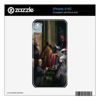 Pope Paul IV Handing over a Statute Skin For The iPhone 4S