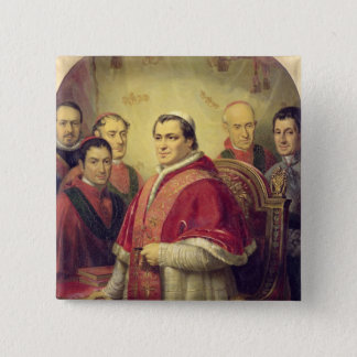 Pope Pius IX  1847 Button