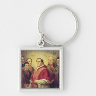 Pope Pius IX  1847 Keychain