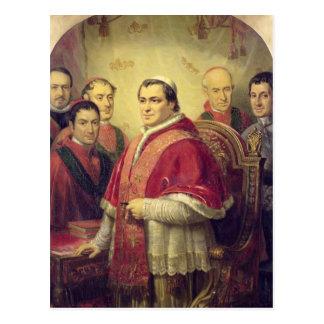 Pope Pius IX  1847 Postcard