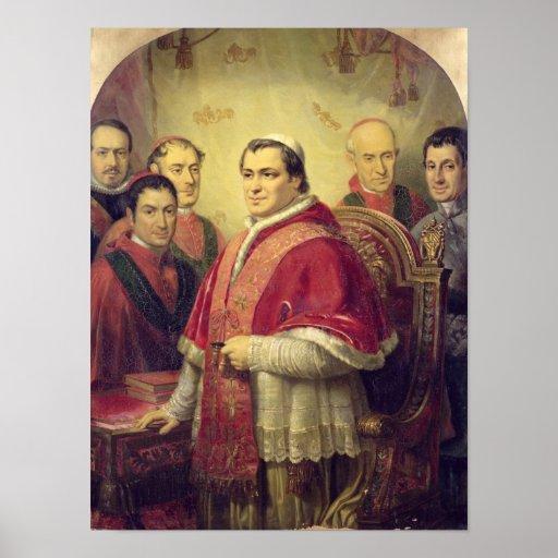 Pope Pius IX  1847 Poster