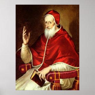 Pope Pius V Poster