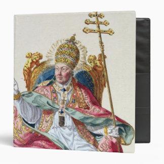 Pope Pius VI (1717-99) from 'Receuil des Estampes, Binder