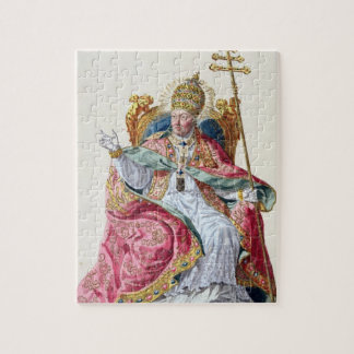 Pope Pius VI (1717-99) from 'Receuil des Estampes, Jigsaw Puzzle