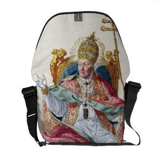 Pope Pius VI (1717-99) from 'Receuil des Estampes, Messenger Bag