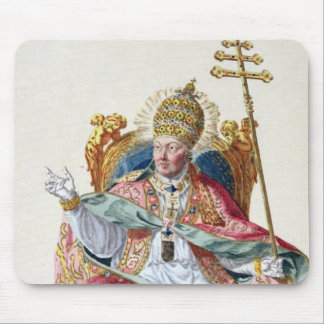 Pope Pius VI (1717-99) from 'Receuil des Estampes, Mouse Pad