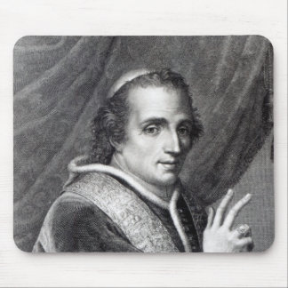 Pope Pius VII, engraved by Rafaello Morghen Mouse Pad