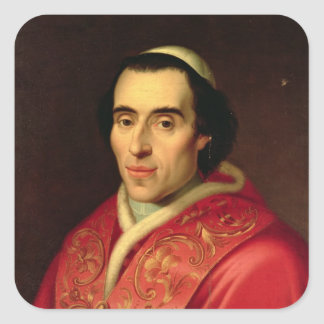 Pope Pius VII Square Sticker