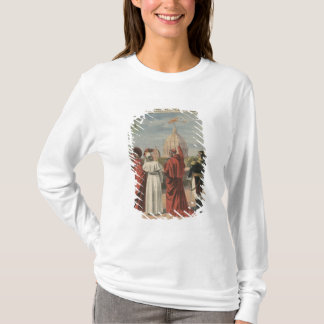Pope Pius X watching  airplane of Andre Beaumont T-Shirt