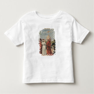Pope Pius X watching  airplane of Andre Beaumont Toddler T-shirt