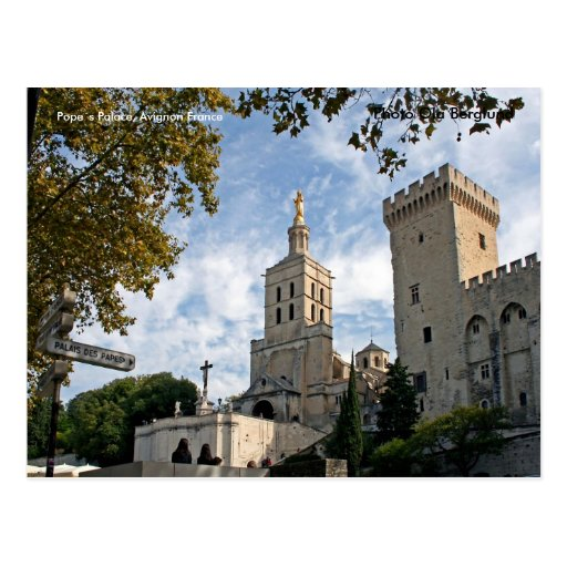 Pope´s Palace, Avignon France, P... Postcard