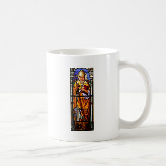 Pope Saint Gregory the Great - Stained Glass Coffee Mug