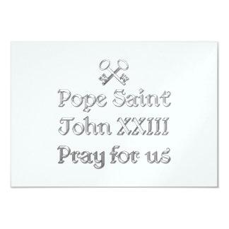 Pope Saint John XXIII Pray for Us Card