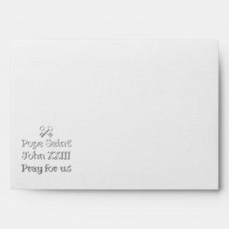Pope Saint John XXIII Pray for Us Envelopes