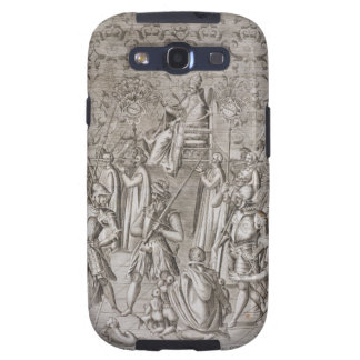 Pope Sixtus V 1521-90 is carried to the Ceremony Galaxy SIII Cover