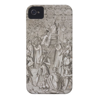 Pope Sixtus V (1521-90) is carried to the Ceremony iPhone 4 Case-Mate Case