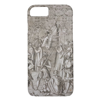 Pope Sixtus V (1521-90) is carried to the Ceremony iPhone 8/7 Case