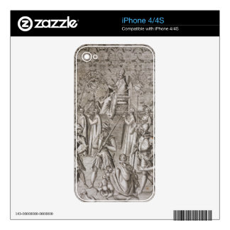 Pope Sixtus V (1521-90) is carried to the Ceremony Skins For The iPhone 4