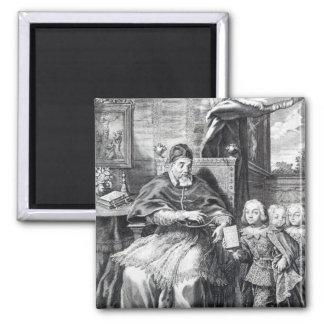 Pope Urban VIII with his nephews Magnet