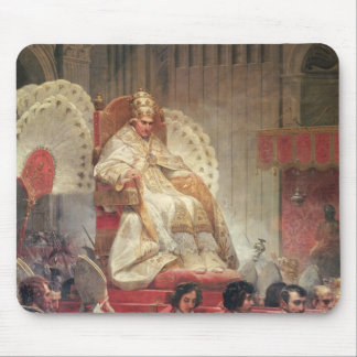 Pope VIII  in St. Peter's on the Sedia Gestatoria Mouse Pad
