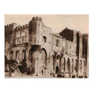 Popes Palace Avignon France Replica 1920 Postcard