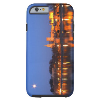 Pope's Palace in Avignon and the Rhone river at Tough iPhone 6 Case