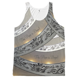 Pope's visit! The Pope is Dope! St. Peter's Steps! All-Over-Print Tank Top