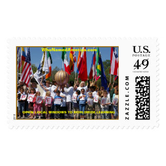 PopeValley4-CU, OPEN LOCAL WINDOWS... - Customized Stamp