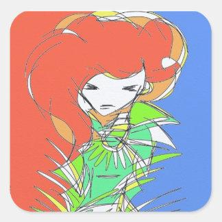 PopGirls Stickers! Square Sticker