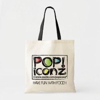 popiconz logo bag
