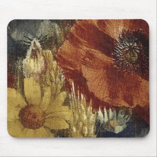 Popies pintado mouse pad