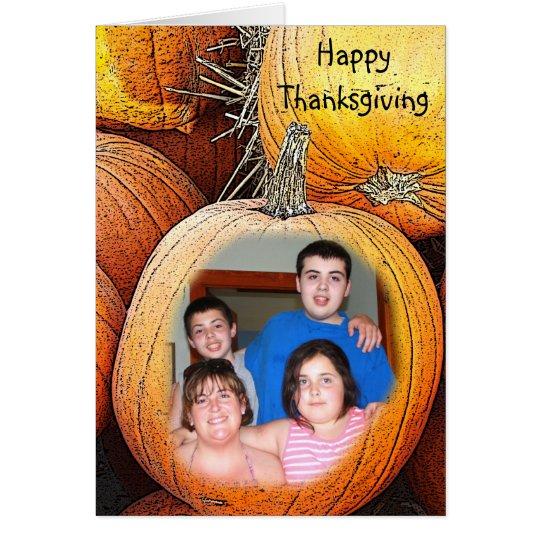 PoPiNaHead - Thanksgiving Card