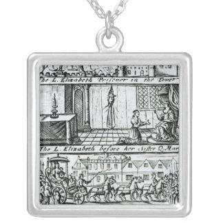 Popish Plot, 1588 Silver Plated Necklace