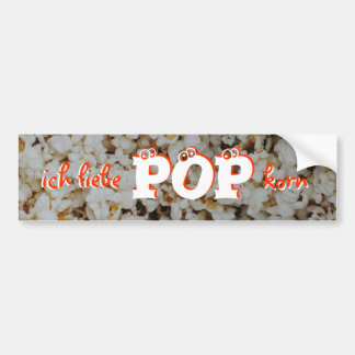 Popkorn Car Bumper Sticker
