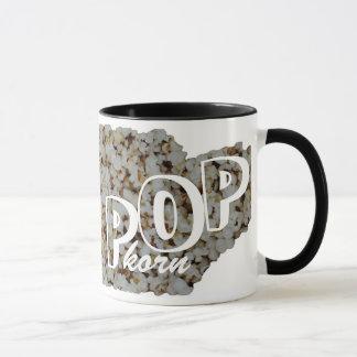 Popkorn heart mug