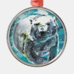Poplar Bear 1 Christmas Tree Ornaments