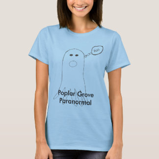 Poplar Grove Paranormal Ghost T-Shirt