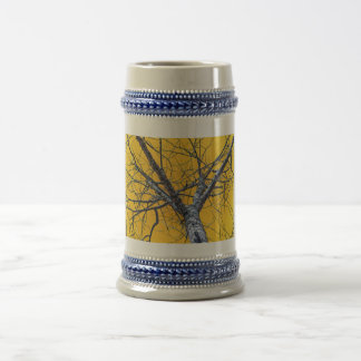 Poplar Tree Crown Beer Stein